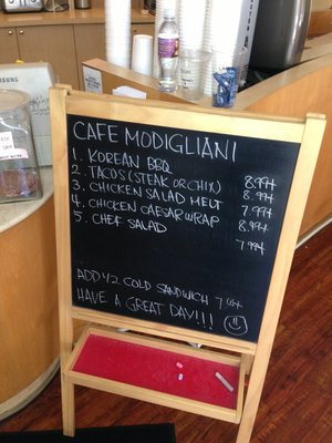 Cafe Modigliani